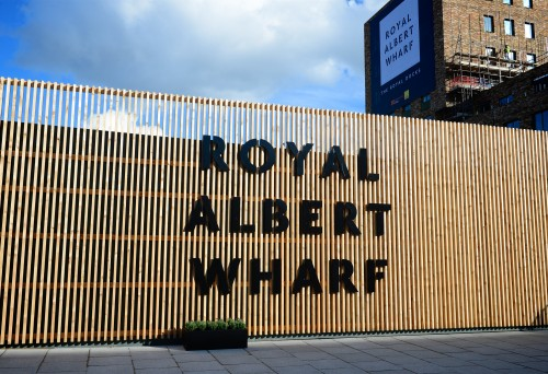 Royal Albert Wharf marketing suite