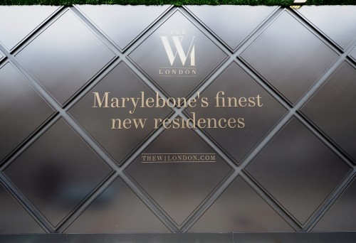 The W1, London's luxury facade