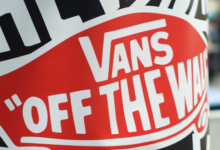 Vans off the wall branding at the Downtown Showdown Event, supplied and installed by Octink