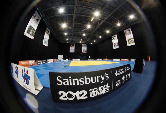 Events Graphics at the Sainsbury's School Games Karate Competition