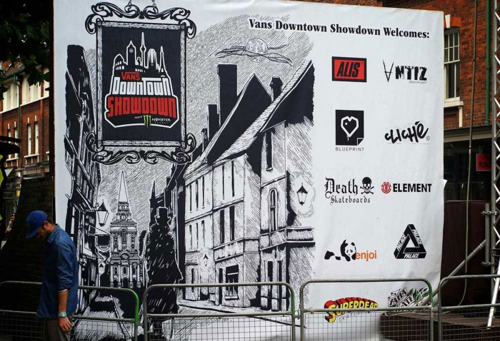 Vans event graphics by supplied and installed by Octink