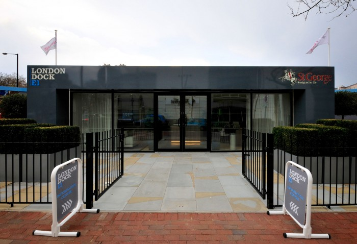 Marketing Suite at London Dock by Octink