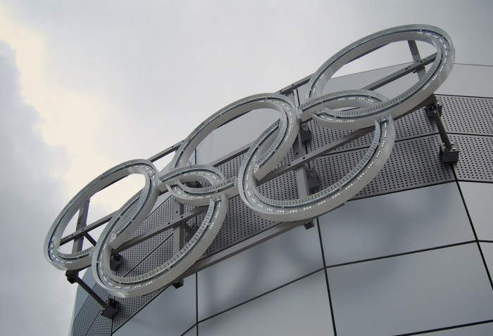 Olympic Rings branding by Octink
