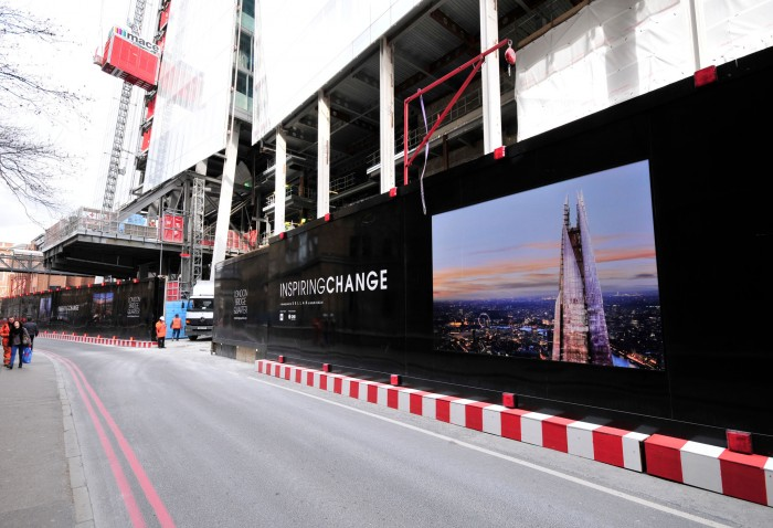 Inspiring Change Hoarding at The Shard London