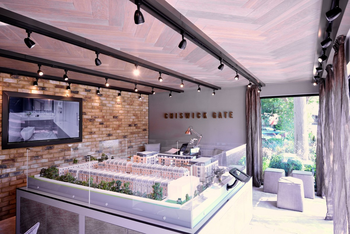 Chiswick Gate Marketing Suite Build and Interior by Octink