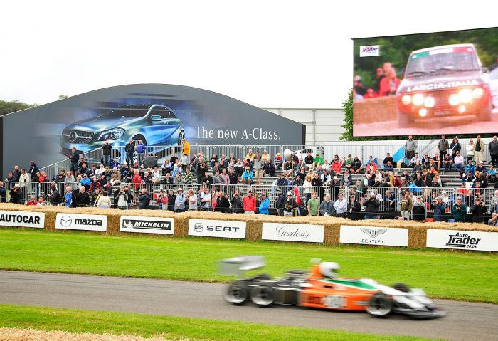 Goodwood event signage by Octink