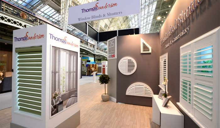Thomas Sanderson Exhibition Stand by Octink