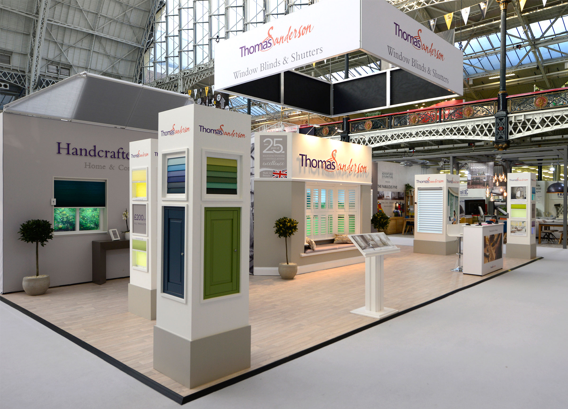Exhibition Stand Graphic : Thomas sanderson exhibition stand graphics octink