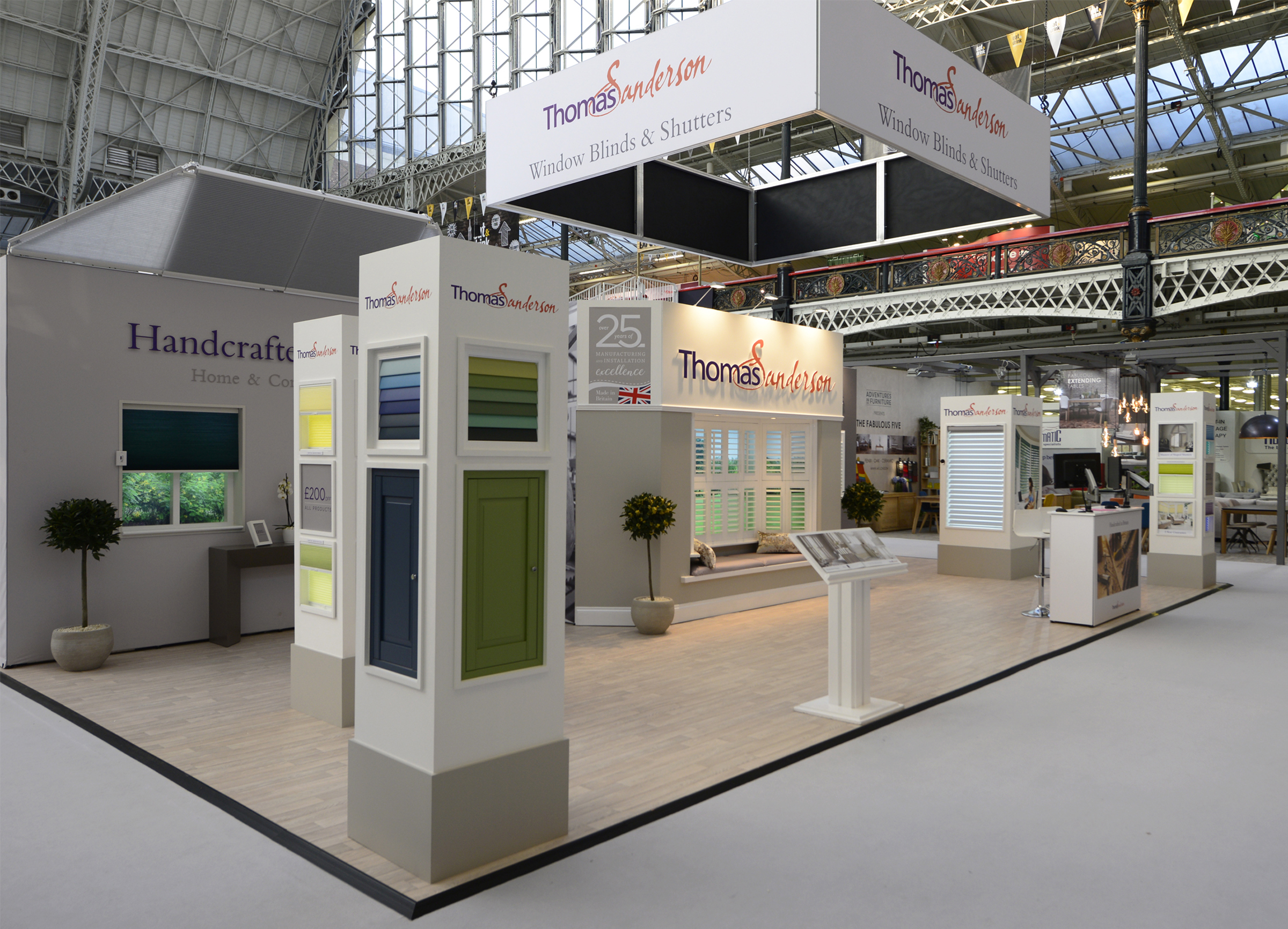 Exhibition Stand Wraps : Thomas sanderson exhibition stand graphics octink