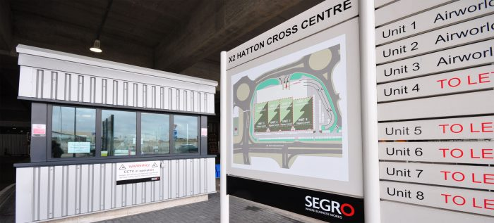 Wayfinding Signage for SEGRO by Octink