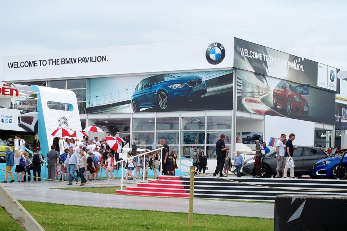 Wall Display Graphics at Goodwood Festival, installed by Octink