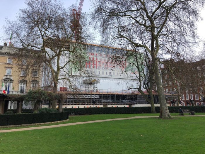 Grosvenor Square Building Wrap