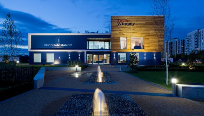 Taylor Wimpey Chobham Manor Marketing Suite