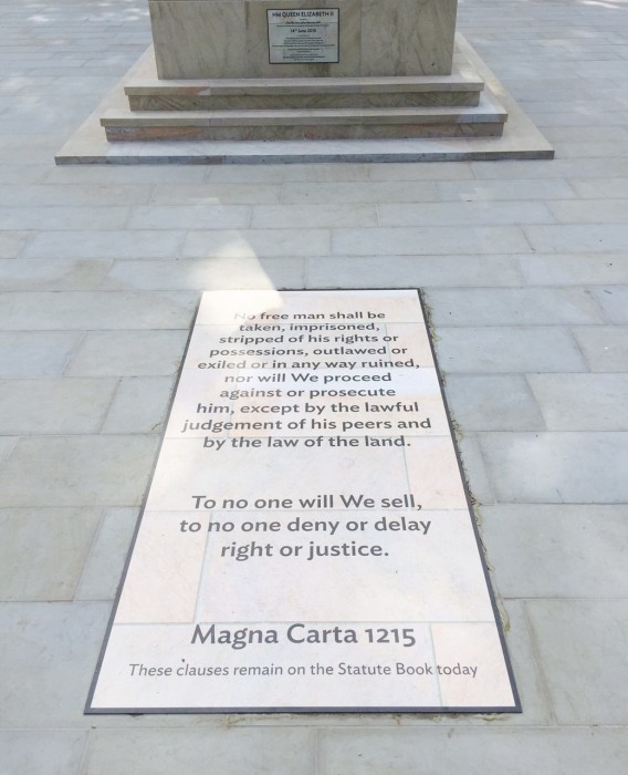 Magna Carta Display Graphic