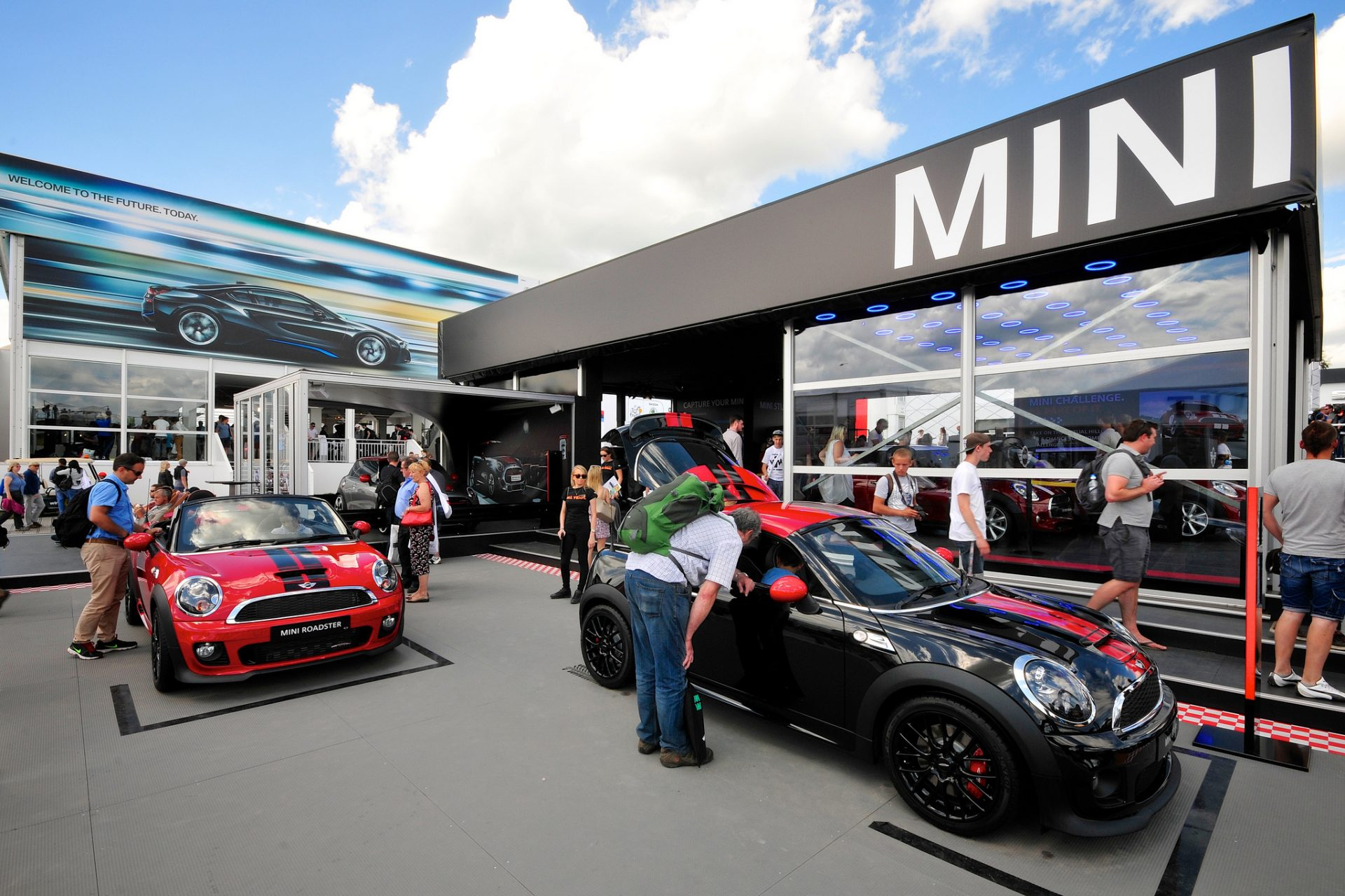 Goodwood event signage, display graphics and building wraps by Octink
