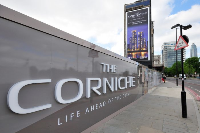 Site Hoardings for The Corniche