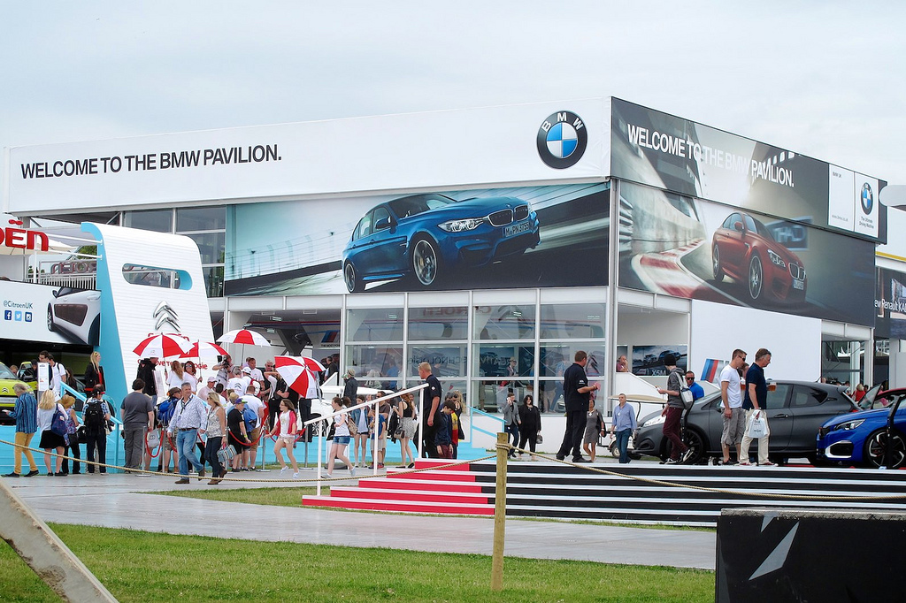 Large format graphics at Goodwood Festival of Speed by Octink