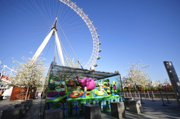 Octink Event Branding at London Eye