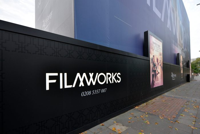 hoardings & building wrap for St George by Octink