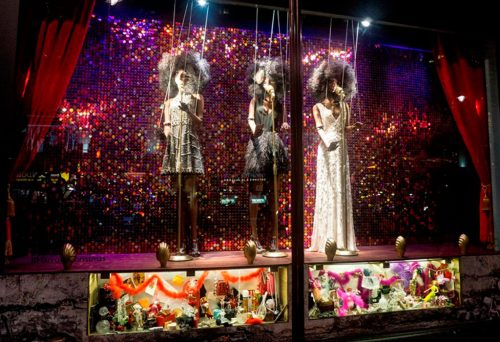 Christmas Window Display at Harrods