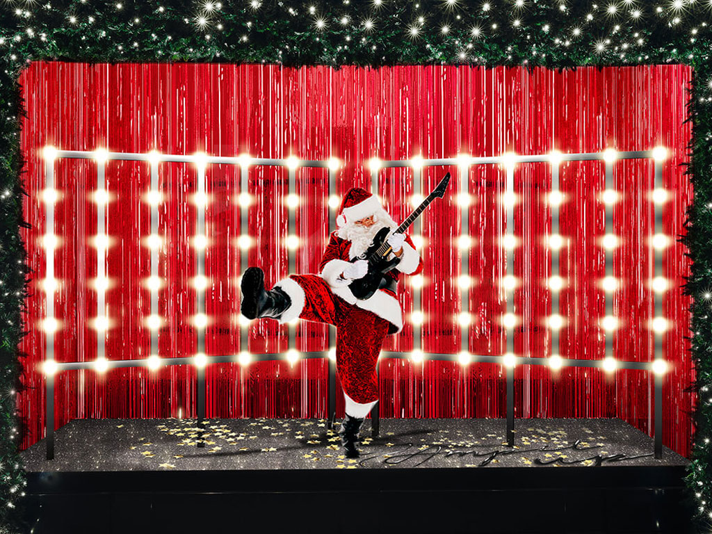 Christmas Window Display at Selfridges
