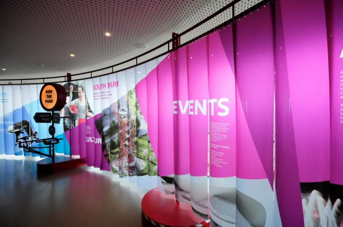 Event Planning - Customer Journey Display Graphics