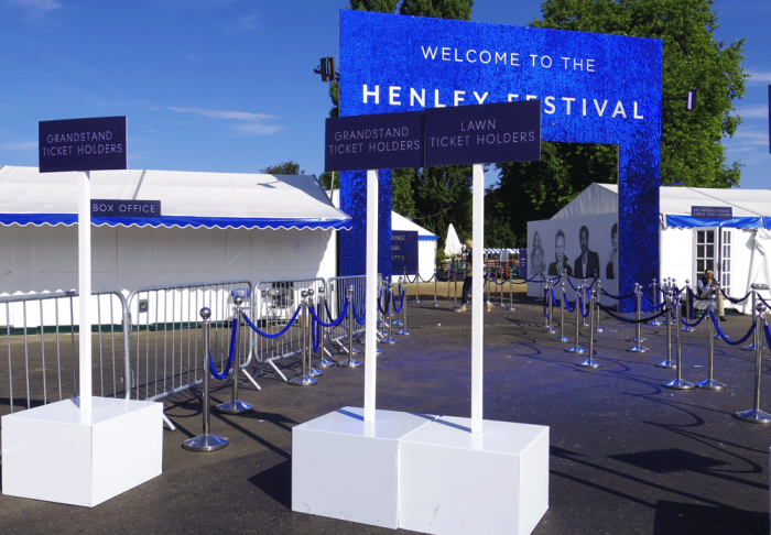Event Planning - Henley Festival Event & Exhibition Display Graphics & Signage