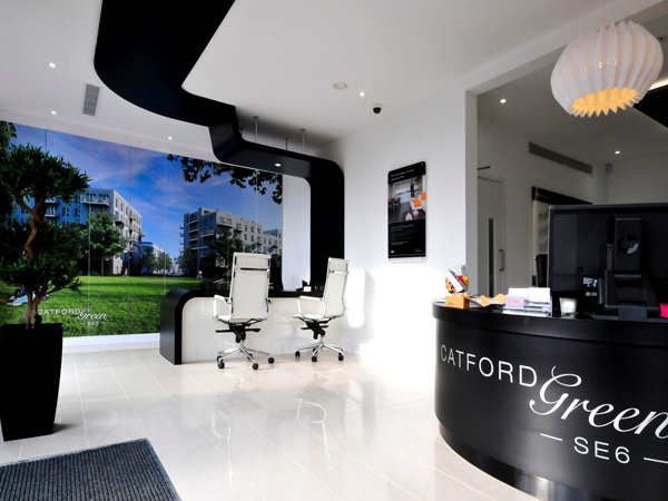 Impressive office design at Catford
